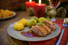 Seared Duck Breast With Duches...
