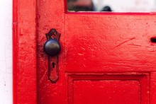 Red Door And Its Knob