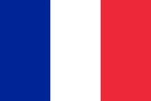 France Flag With Red, White An...