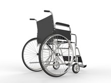 Medical Wheelchair With Black ...