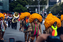 Day Of The Dead Parade, Mexico...
