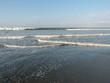 waves on beach - costa rica