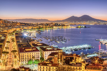 The City Of Naples In Italy Wi...