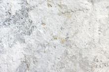 Rough Concrete Whitewashed Wal...
