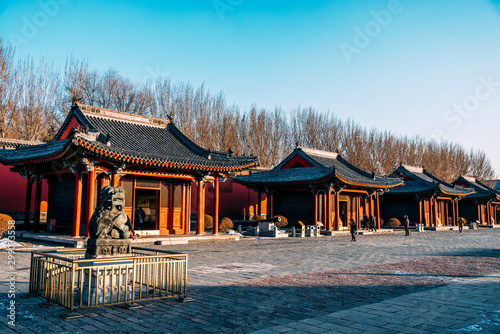 Photo  Shenyang Imperial Palace (Mukden Palace) was the former imperial palace of the early Manchu-led Qing dynasty and UNESCO world heritage site built in 400 years ago
