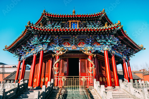 Fototapeta  Shenyang Imperial Palace (Mukden Palace) was the former imperial palace of the early Manchu-led Qing dynasty and UNESCO world heritage site built in 400 years ago