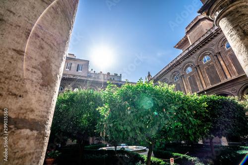 Fotografie, Obraz  Galleria Doria Pamphilj in Rome. Italy