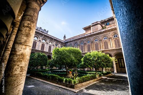Obraz na plátně  Galleria Doria Pamphilj in Rome. Italy