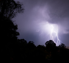 Thunderstorm With Lots Of Ligh...