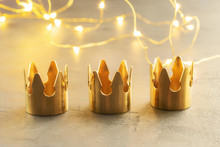 Three Gold Crowns, Symbol Of T...