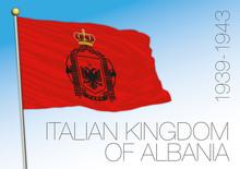 Albania, Historical Flag Of Th...