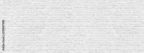 Obraz Old red brick wall background, wide panorama of masonry - fototapety do salonu