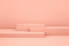 White Booth 3D Rendering Backg...