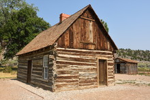 Wooden Butch Cassidy House In ...