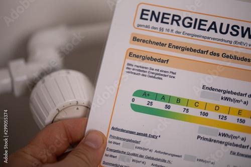 Foto auf Leinwand Natur energieausweis