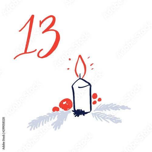 Fotografering  Advent calendar, day 13