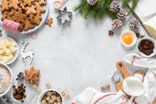 Christmas Or Xmas Baking Culin...