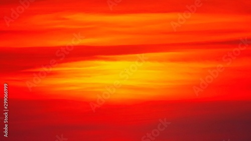 Foto auf Gartenposter Rot Abstract background sunset sky red sky orange outdoor summer nature