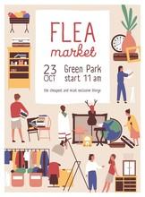 Designer Market Flat Poster Ve...