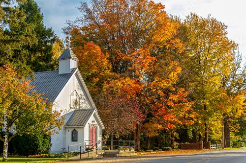 Valokuva  Small Rural Church