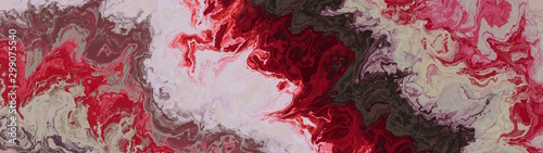 Photo Panoramic mulberry colored liquid grunge abstract wallpaper.