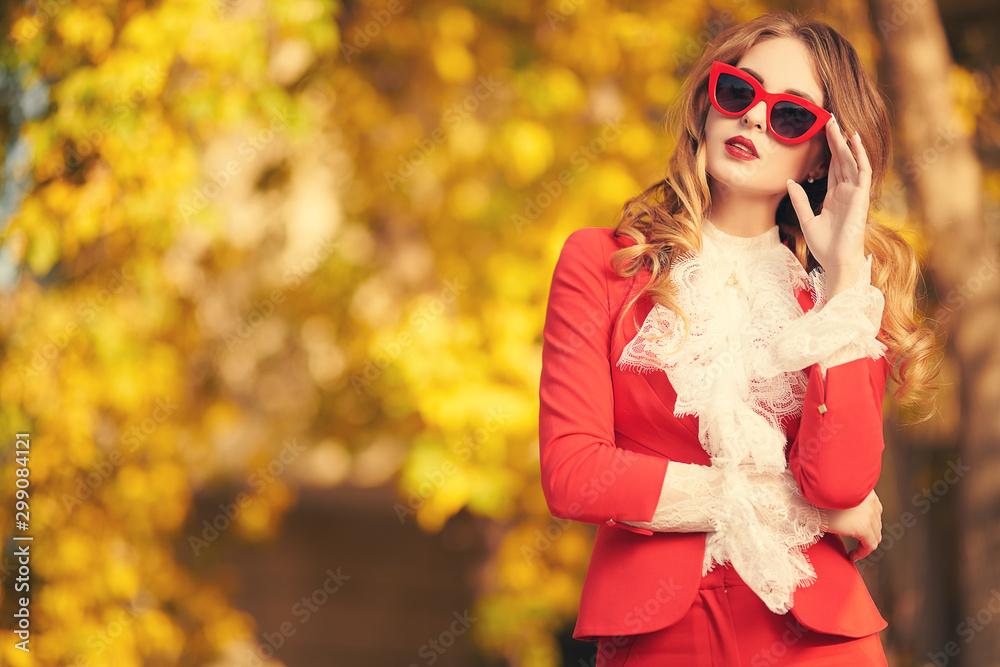 Fototapety, obrazy: romantic female image