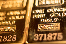 Gold Bullion Ingot 999.9 Bar