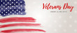 USA Veterans day banner