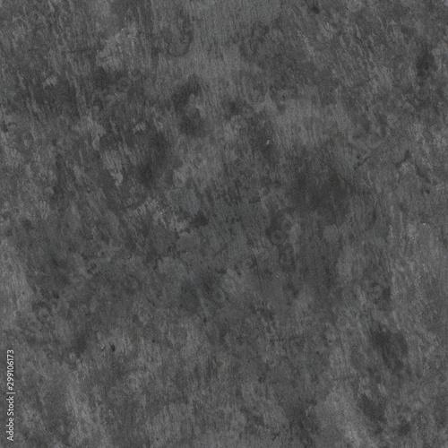 Obraz na plátně  Seamless texture of grey slate plate with wet spots.