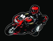 Montorcycle Kawasaki Ninja Vector