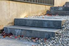 Precast Concrete Steps Provide...