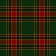 Christmas Festive Tartan Plaid...