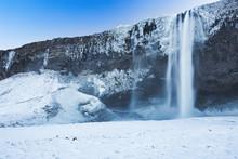 Seljalandfoss Waterfall During...
