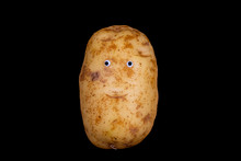 An Isolated Image Of A Potato ...