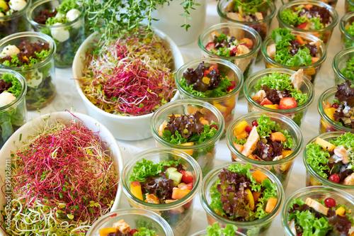 Photo Catering Buffet Partyservice vegetarisch Salate