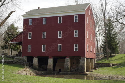 an Indiana Grist mill built in 1845