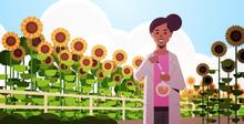 African American Woman Farmer ...