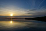 Fototapeta Sypialnia - Lake in Funka