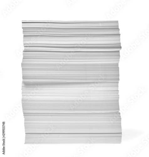 Fotografie, Obraz paper stack pile office paperwork busniess education