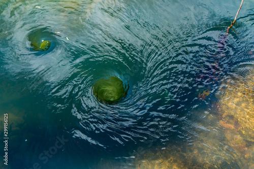 whirlpools Fototapeta