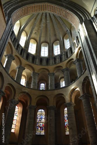 Pinturas sobre lienzo  Colonnade de la cathédrale de Tournai, Belgique