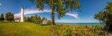Wind Point Lighthouse, Racine,...