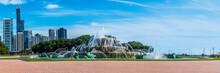 Buckingham Fountain In Late Su...