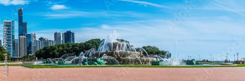 Fotografie, Obraz Buckingham Fountain in late summer