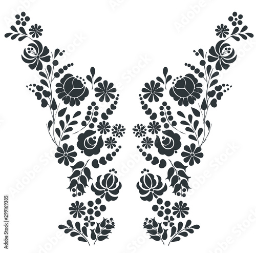 lace seamless pattern Tablou Canvas