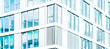canvas print picture - real estate business background - modern abstract building facade  -
