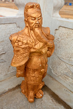 Ancient Chinese General Wood C...