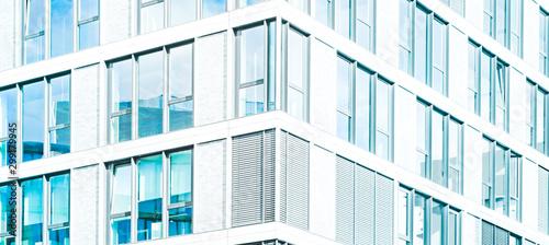 Pinturas sobre lienzo  real estate business background - modern abstract building facade  -