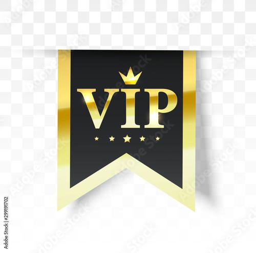 Foto  Vip label, badge or tag