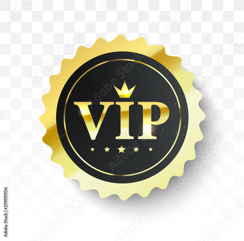 Pinturas sobre lienzo  Vip label, badge or tag